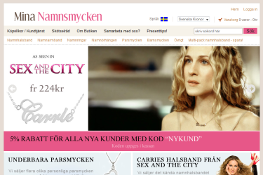 Swedish Ecommerce Website